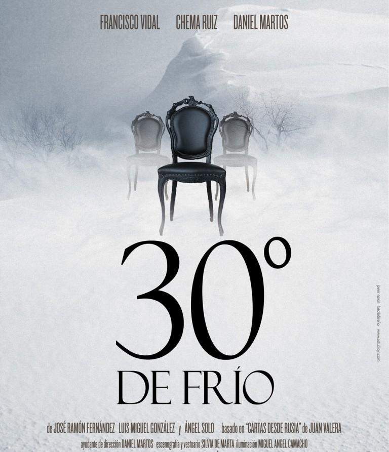 30 grados de frío - 30 degrés de froid // 17 Janvier 2016 // Lecture en espagnol surtitré français