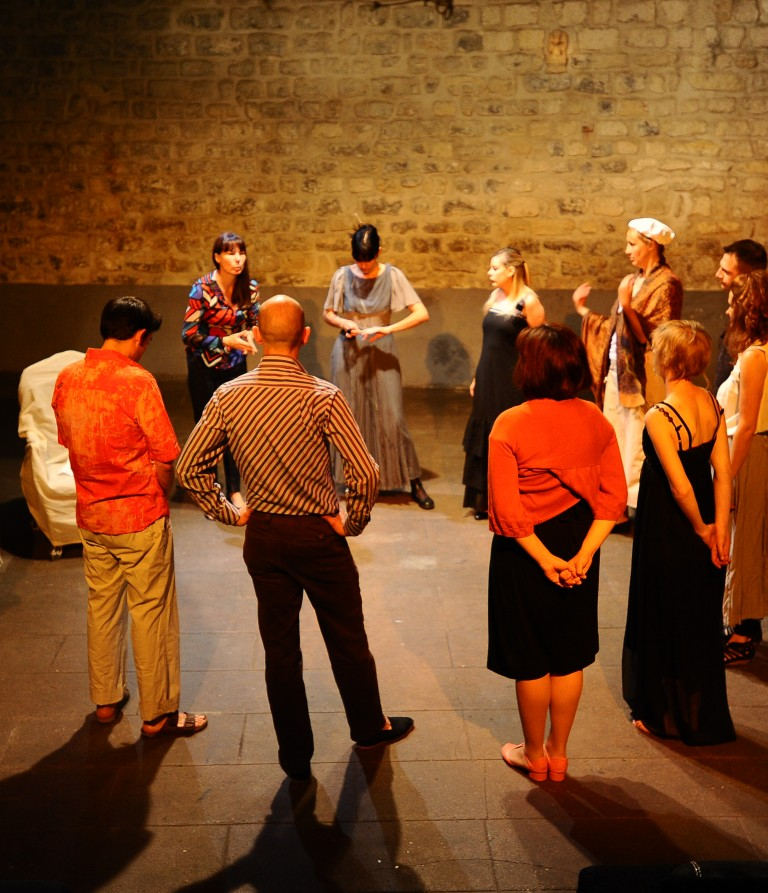Théâtre forum avec l'atelier adultes du Théâtre de l'Opprimé // samedi 4 juin 2016 à 15h