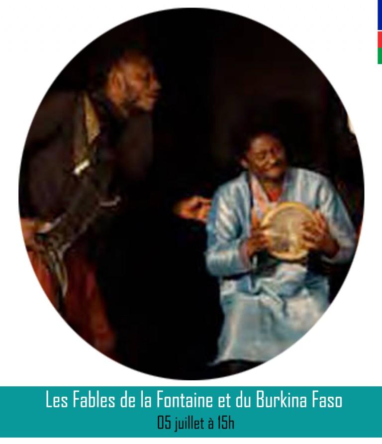 LES FABLES DE LA FONTAINE ET DU BURKINA FASO║ 05 juillet à 15h