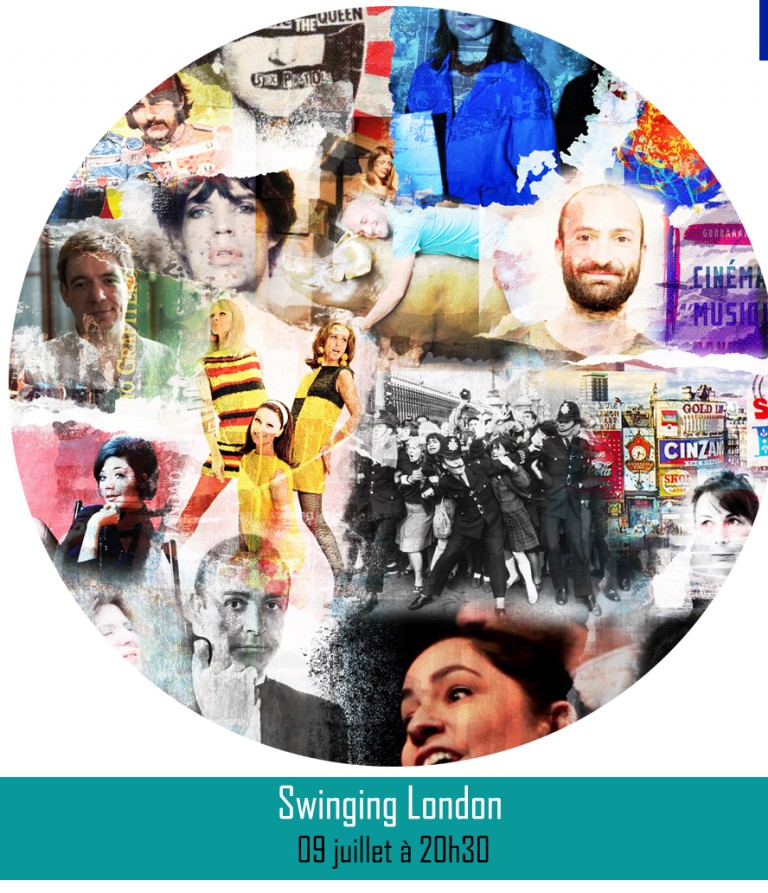 SWINGING LONDON║ 09 juillet à 20h30