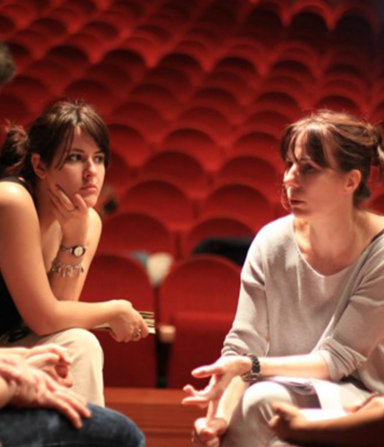 Atelier hebdomadaire « du texte au Théâtre-Forum » 19/20