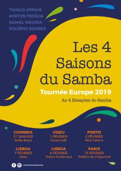 Les 4 stations du Samba