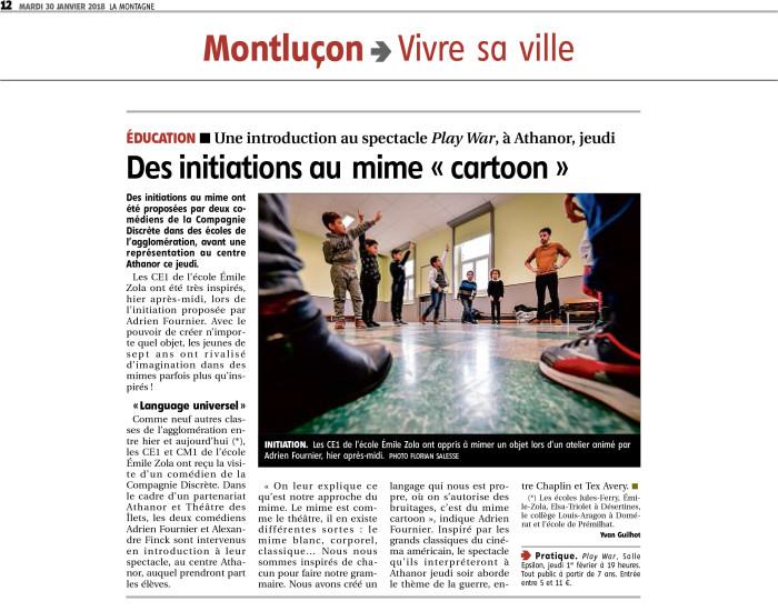 Play War - Montluçon