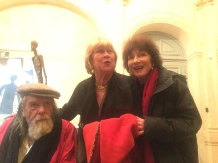 Michael Lonsdale, Françoise Dax-Boyer et Judith Magre