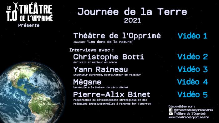 Journée Terre 2021 - affiche