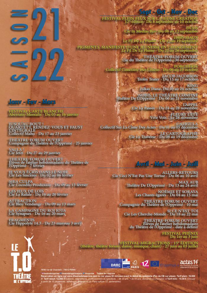 Affiche programme année