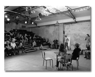 Stage TO : L'arc en ciel du désir dirigé par Léo Frati // du 07 au 12 février 2017