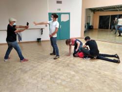 Scène de violences policières