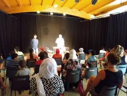 Le public lors du théâtre-forum